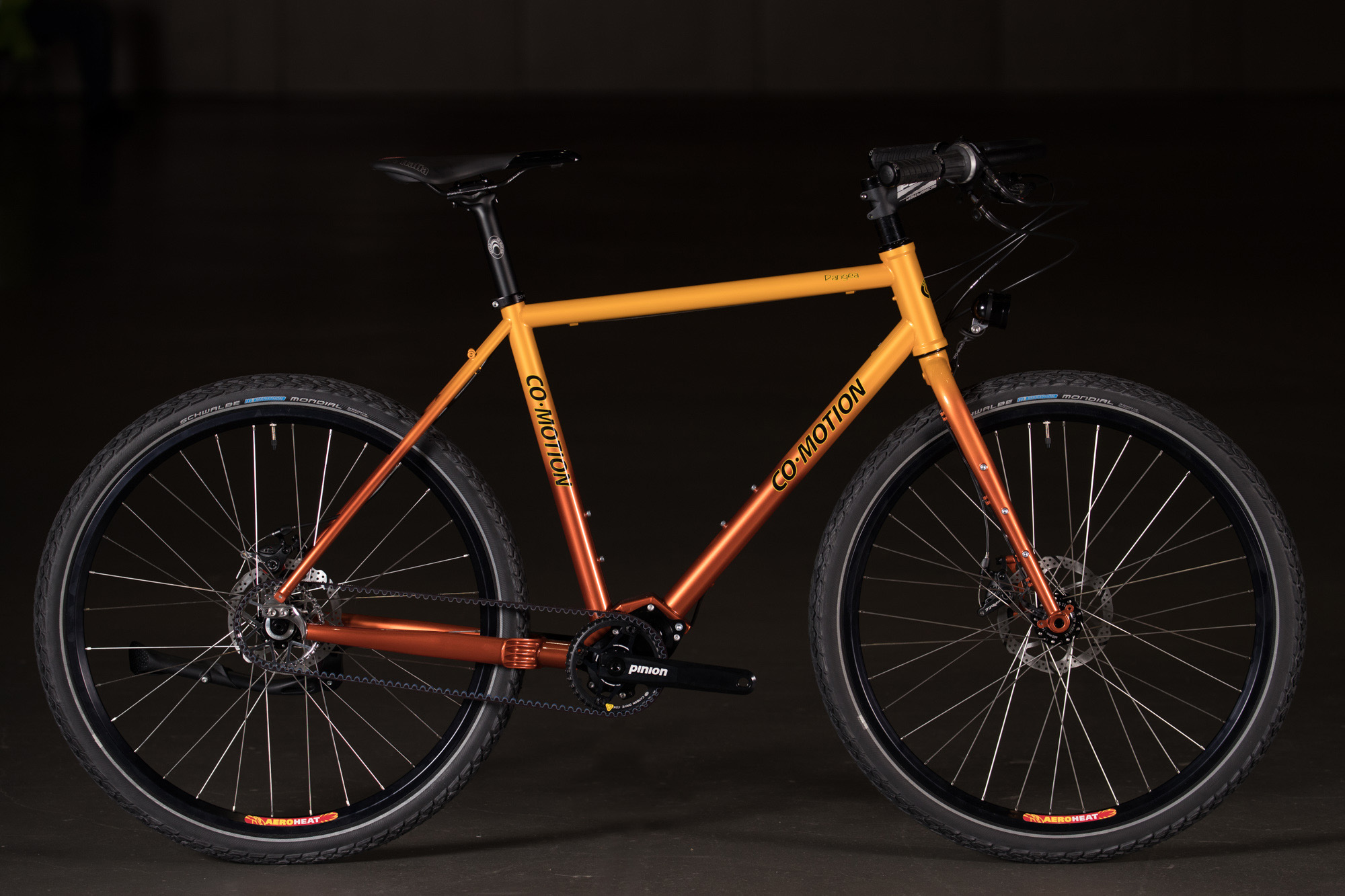 2018 Nahbs Sunset Fade Co Motion Pangea With Pinion
